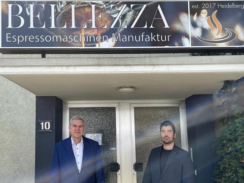 Seit 2020 hat Bellezza eigene Räume in Heidelberg: eine ehemalige Druckerei in Rohrbach-Süd, die von den Gründern in den ersten Wochen selbst ausgebaut wurde.