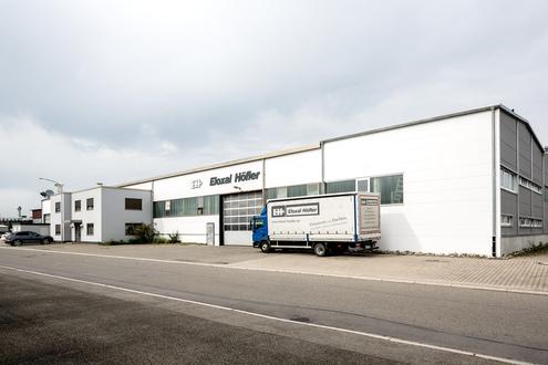 Firmengelände Eloxal Höfler