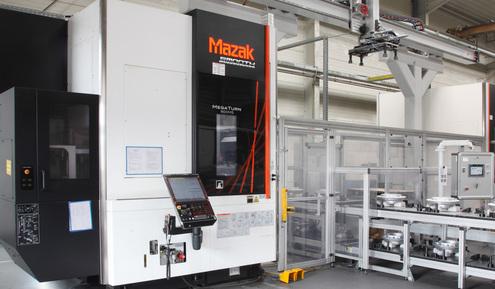 GSTech bietet eine vollautomatische CNC-Bearbeitung bis 90 Kilogramm und einem Durchmesser von 900 Millimetern.