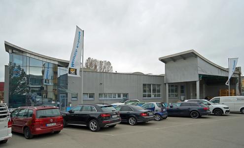 Der Firmensitz der heutigen Tricosal Heinrich Schmid GmbH & Co. KG in Magstadt.