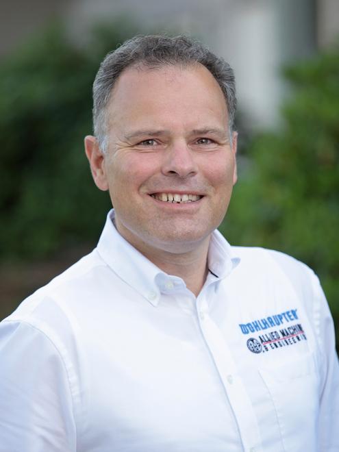 Frank-Michael Wohlhaupter ist Großneffe des Firmengründers und Geschäftsführender Gesellschafter der Wohlhaupter GmbH in Frickenhausen.