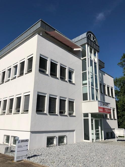 Der neue Firmensitz von SMARD in Rechberghausen