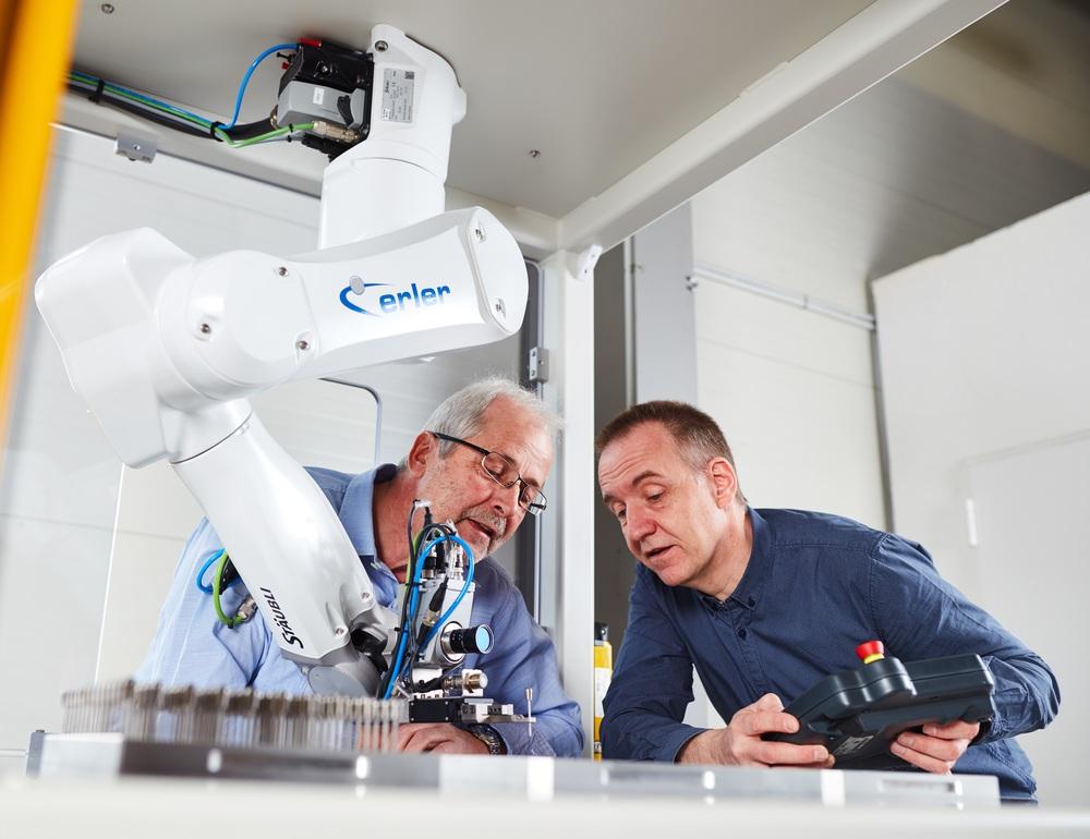 Die Erler GmbH ist Experte für Automation und Robotik