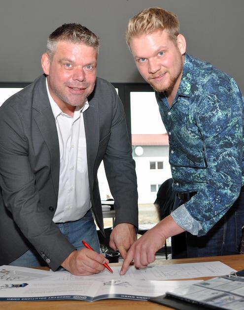 Martin Heigle (links) und Mario Buschle