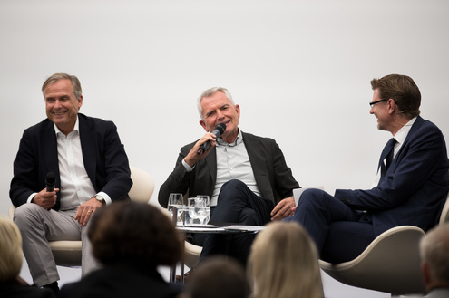 Podiumsdiskussion mit Axel Hacke, Wolfgang Dietrich, Andreas Franik beim RKW BW Forum 2018