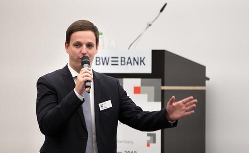 Jan Sibold beim RKW BW Forum 2018