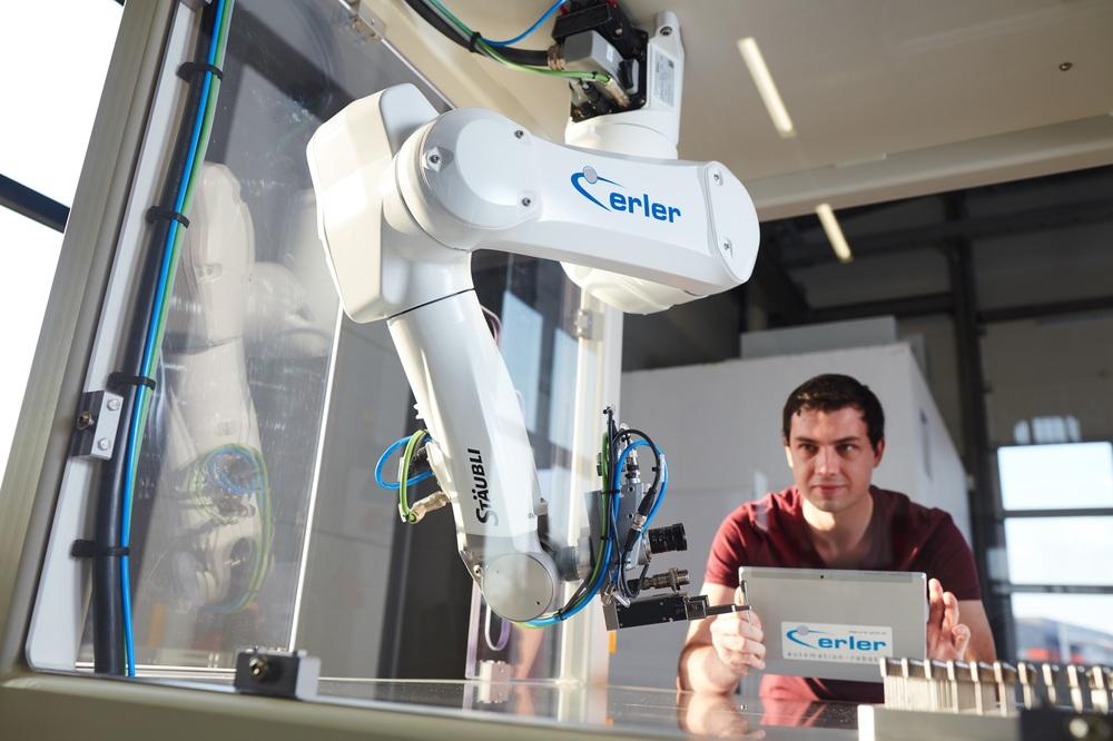 Automated precision: Die Erler GmbH ist Experte für Automation und Robotik